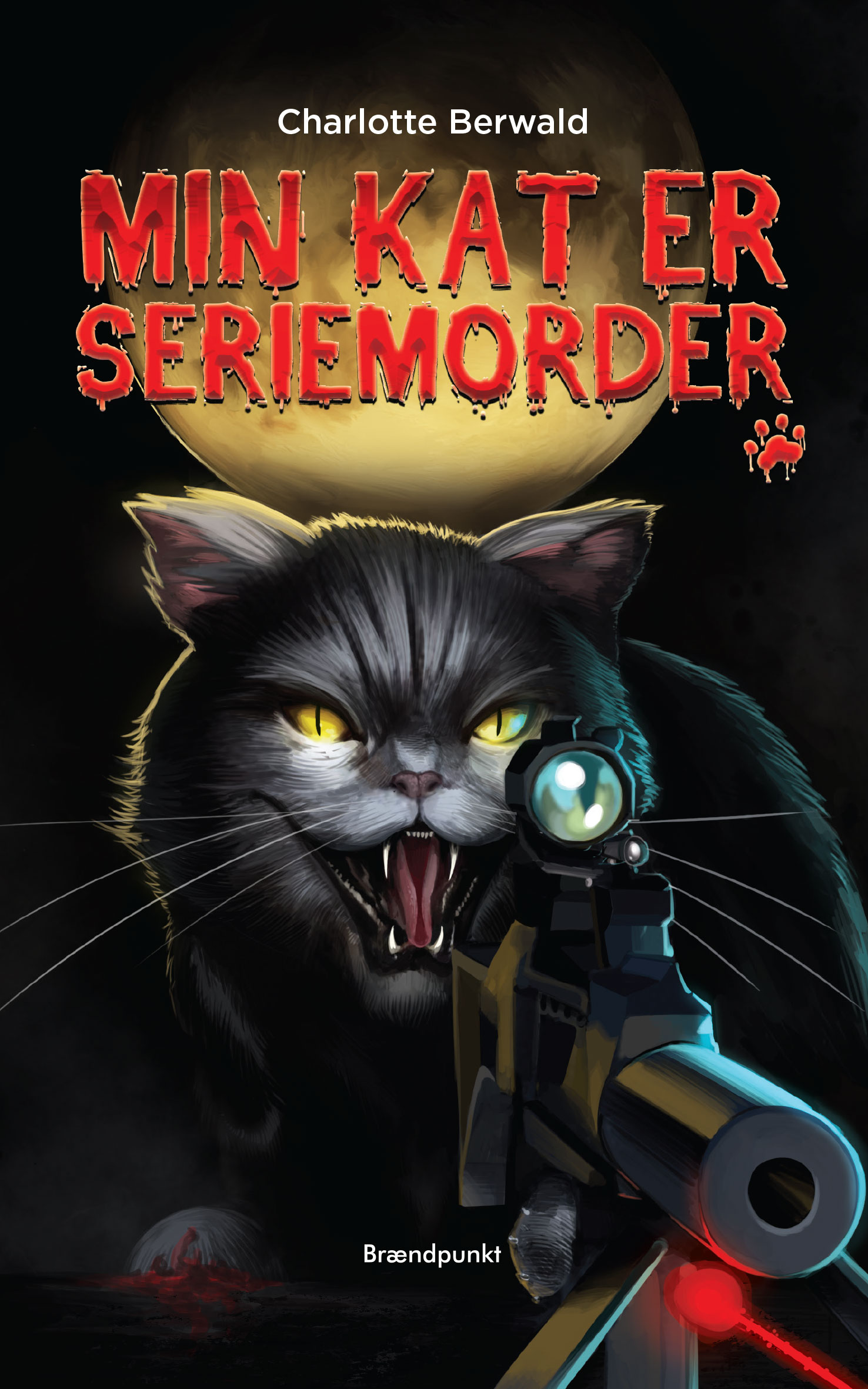 Min kat er seriemorder af Charlotte Berwald, Børnebog – Lix 10